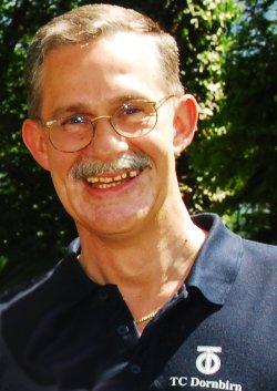 Peter Troy -Mannschaftsführer 55er -TCD Dornbirn